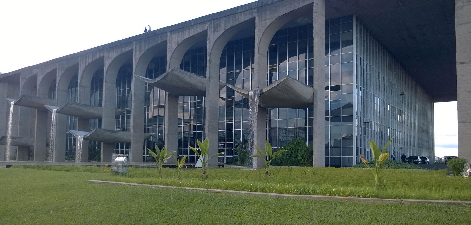 Das Justizministerium in Brasilia