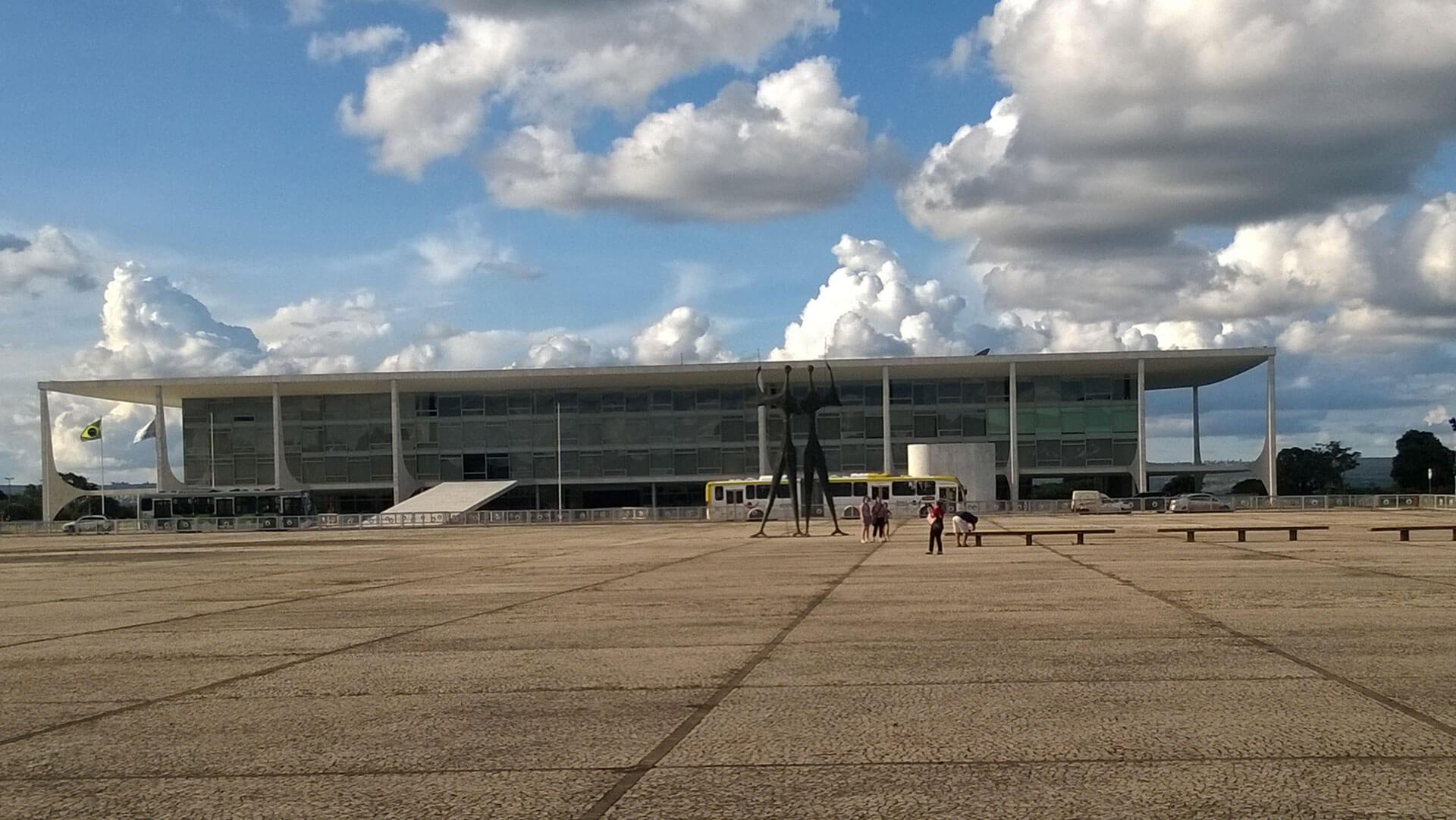 Präsidentenpalast in Brasilia
