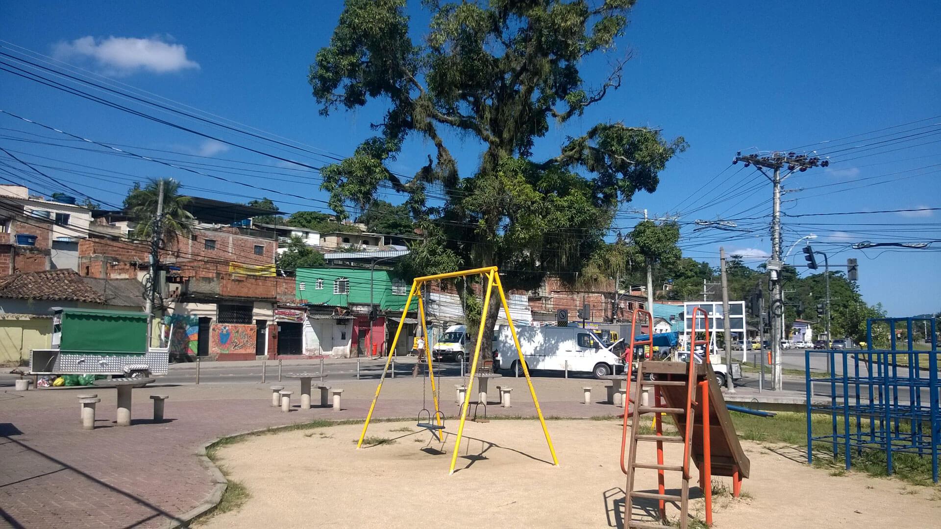 Largo de Correa im Stadtteil Camp Grande